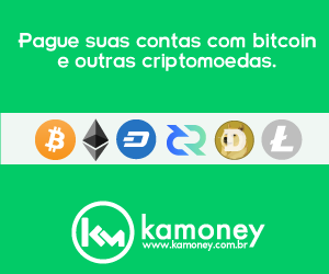 Pague com Bitcoin e altcoins na Kamoney